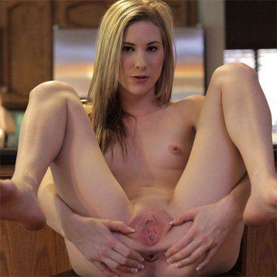 Blonde milf pussy
